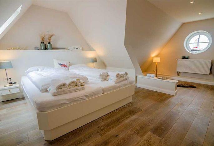 Ferienhaus Sylt, Hues Frieda, Schlafzimmer