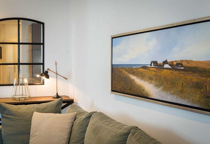 Ferienwohnung Sylt, Art your Life-Residenz, Whg. 11 Superdet, Sofa
