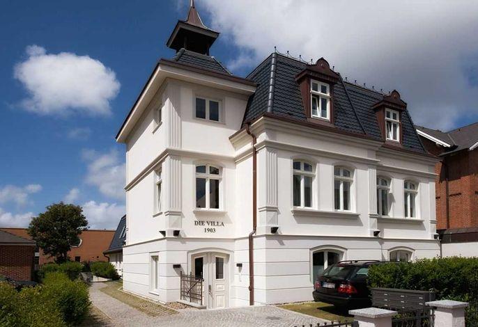 Whg. 1,  Die Villa 1903