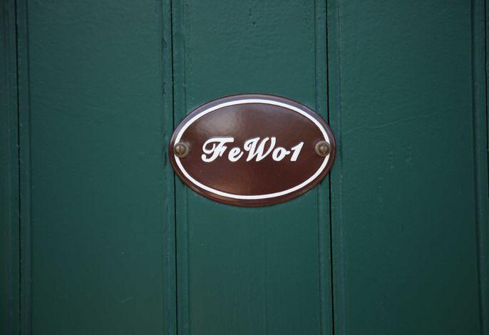 Zugang zur FeWo 1