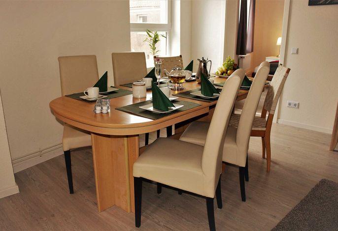 Sitzgruppe für bis zu 10 Personen, so gemütlich können Sie Urlaub machen!