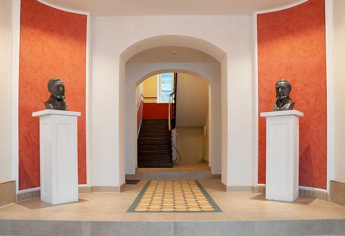 Eingangsbereich Haus