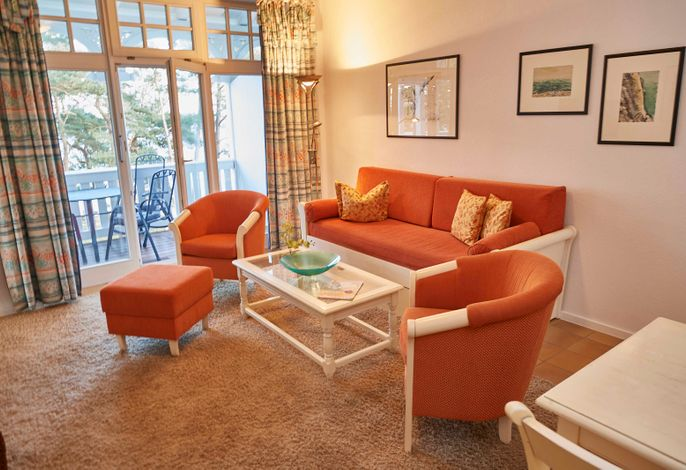 WG 11 in der Villa Strandidyll - Wohnzimmer