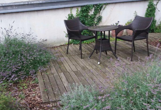 Gartenapartment nah beim Zentrum und ruhig