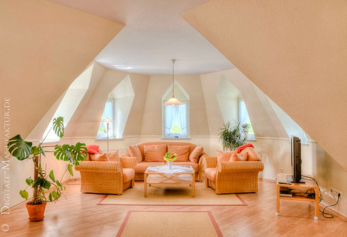 'Haus Landblick Whg. Turmzimmer