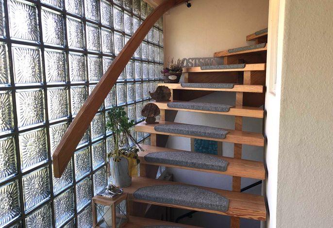 Familienurlaub pur - sonniger Balkon mit Blick ins Grüne