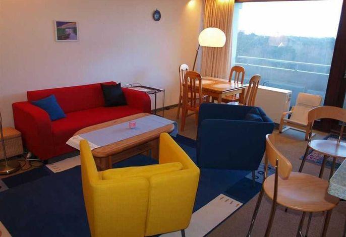 Sitzgruppe, Wohnzimmer - St Peter Ording Bad, Haus Atlantic, Wohnung 63