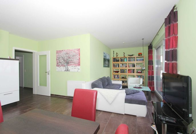 Wohnraum mit Flachbild TV