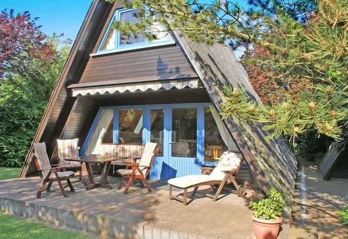 Zeltdachhaus - grosse Terrasse - moderne Ausstattung