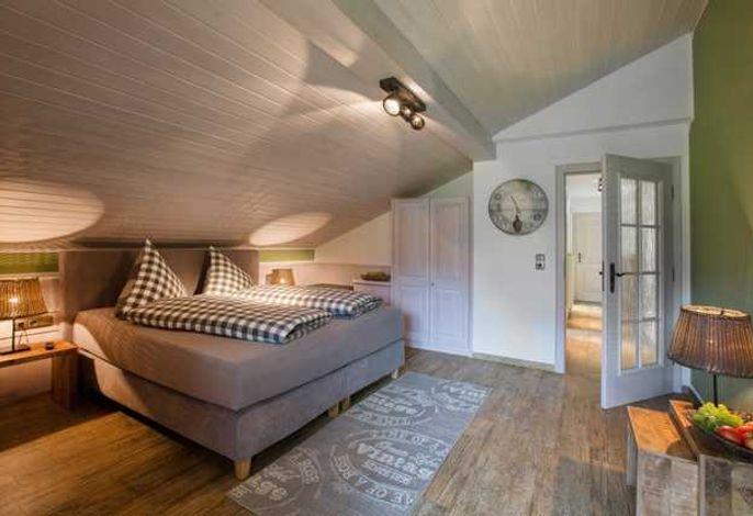 Schlaf- und Wohnbereich Lavendel