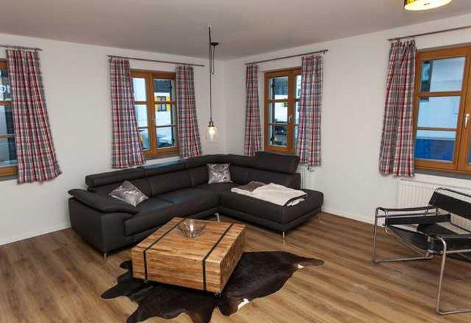 Wohnzimmer Ferienwohnung 4
