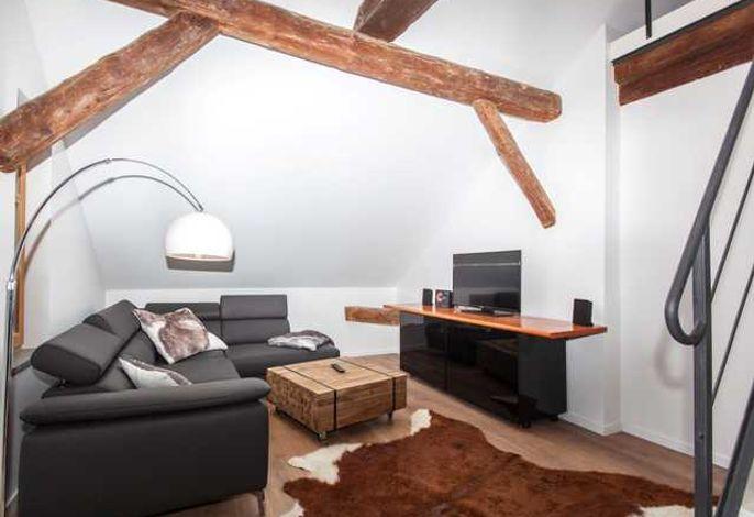 Wohnzimmer Ferienwohnung 6