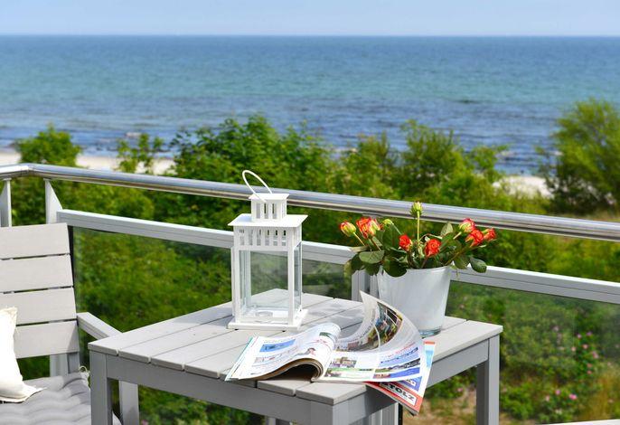 Ferienwohnung Strandperle mit Meerblick