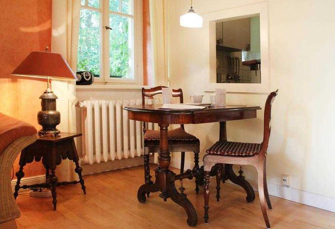 Haus Hubertus Whg. H3 - Blick auf den Essbereich
