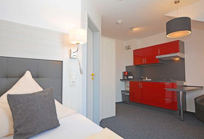 neu ausgestattete Einzelzimmer