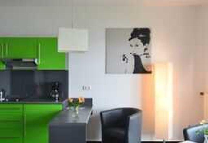 Küche und Sitzecke, Beispielbild.