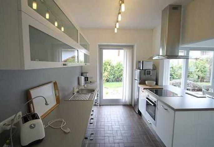 Küche mit technisch sehr guter Ausstattung