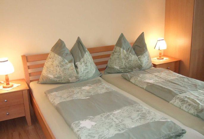 Schlafzimmer Apartment Sonnenblume