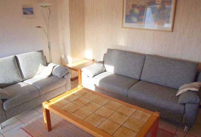 Wohnzimmer - Haus Back, Wohnung OG links, Theodor-Mommsen-Weg 8, St. Peter-Bad