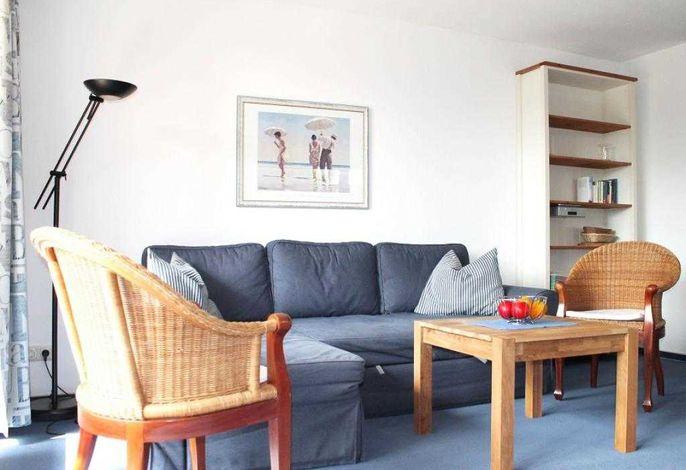 Papillon Whg.12/1- Wohnbereich mit Sofa