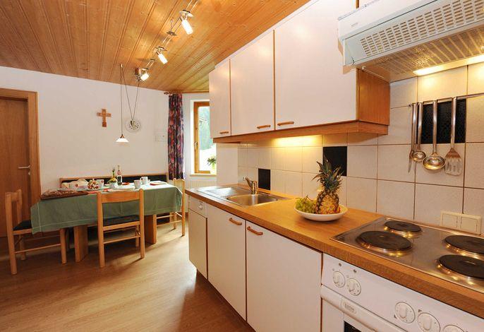 Apart Zimalis in Galtür Tirol Paznaun-Ischgl, Appartement Sarah für 4-5 Personen, Wohnkueche