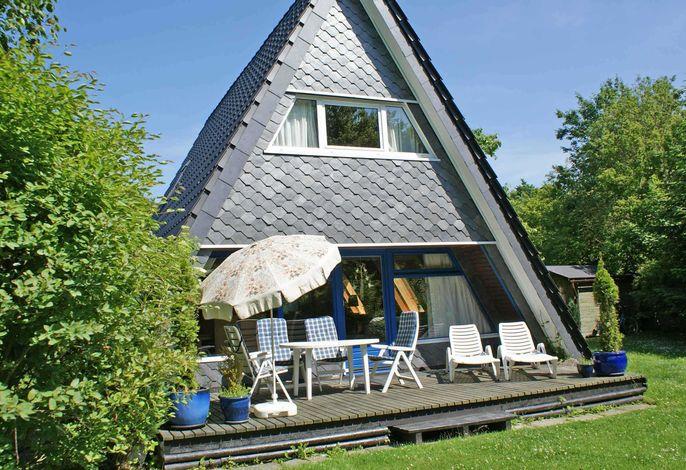Zeltdachhaus - für bis zu 6 Personen
