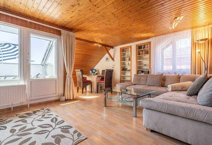 Wohnzimmer Haus Loreley, Wohnung 35, Im Bad 37, St. Peter-Bad