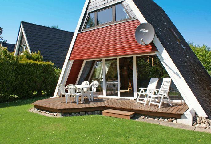 Zeltdachhaus mit W-LAN für die ganze Familie