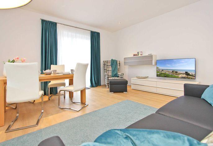 Flatscreen-TV Im offenen Wohnbereich