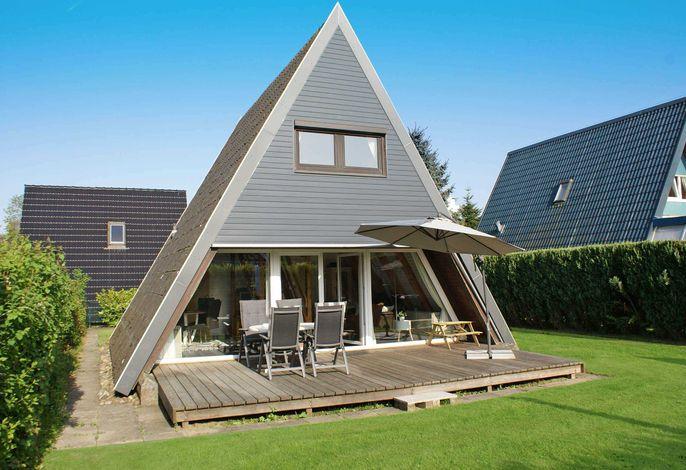 Zeltdachhaus mit W-LAN - sehr strandnah - mit grosser sonniger Terrasse