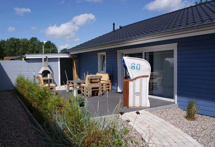(ERL1) Ferienhaus im Erlenweg Blau