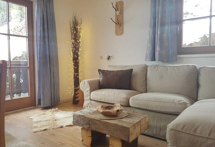Die Couch im Wohnraum