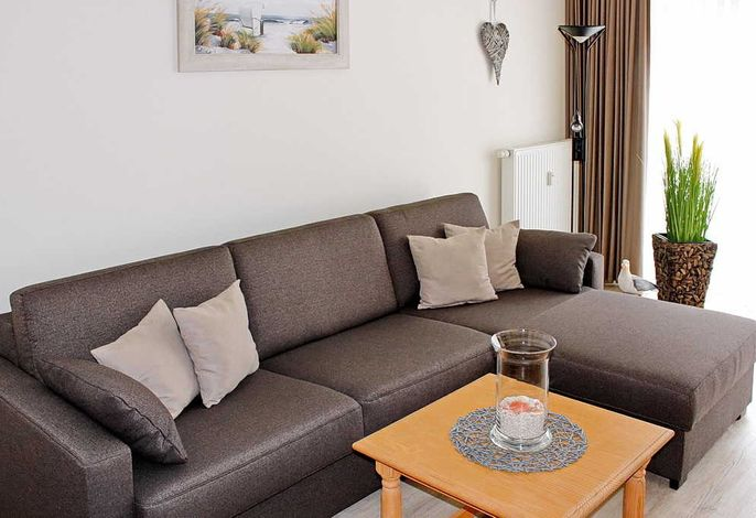 Wohnbreich mit Sofa