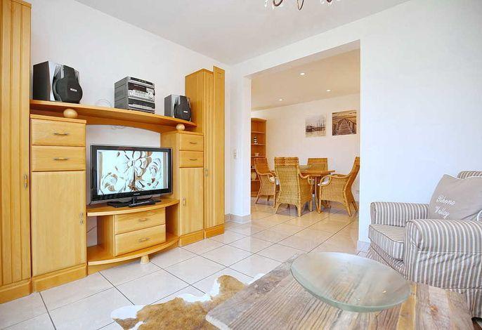 TV im Wohnbereich