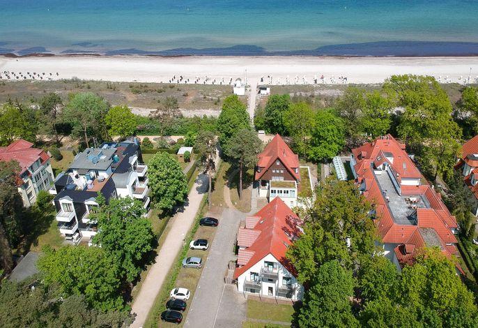 Strandvilla Krabbe Wohnung 10