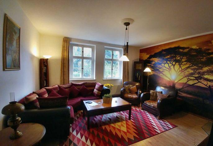 Wohnzimmer Afrika