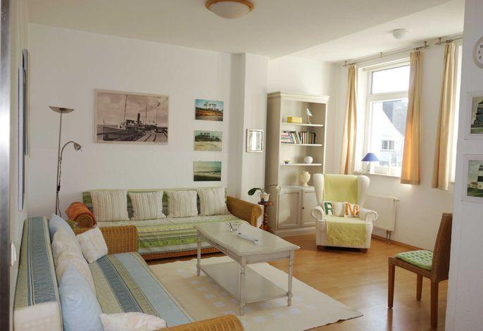 Villa Iduna - Fewo 2 - Wohnzimmer