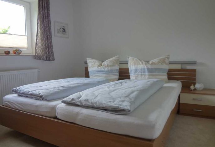 Schlafzimmer in der Ferienwohnung Krüger in Ückeritz auf Usedom