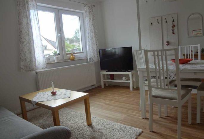 Wohnzimmer in der Ferienwohnung Krüger in Ückeritz auf Usedom