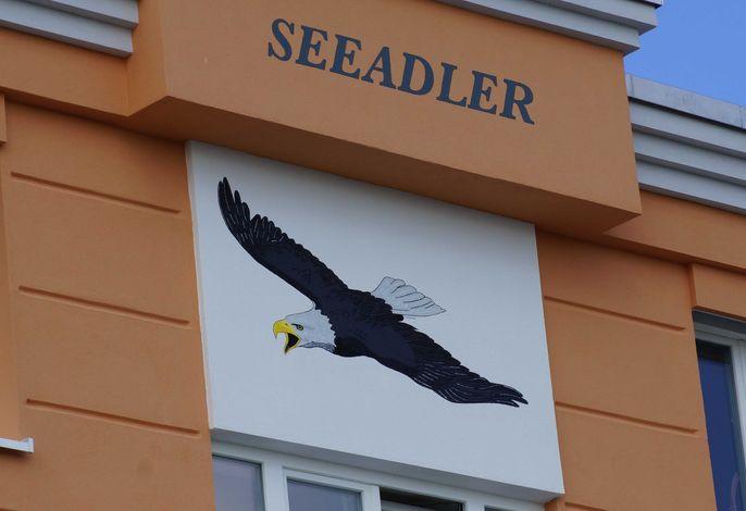 Exkl. App. Seeadler mit Meerblick, 100 m zum Strand