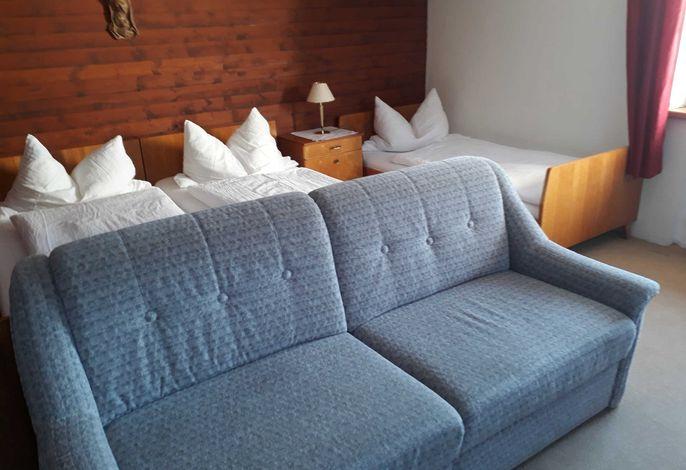 3-Bettzimmer  mit Couch