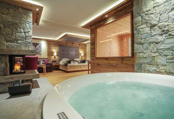 Luxus Wellness Suite Hotel Kristall