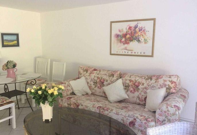 Wohnbereich Ferienwohnung Schlei-Rose