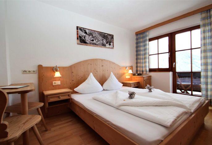 Doppelzimmer mit Balkon Wiesenhof