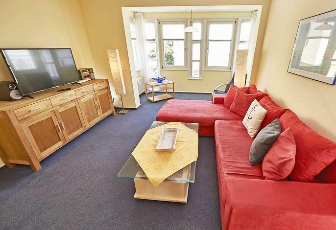Das Haus Concordia im Ostseebad Binz WG 15  Putbus - Wohnzimmer