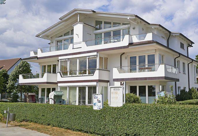 """Villa Schwan F654 WG 17 """"Sonnengruߓ mit 2 Terrassen"""