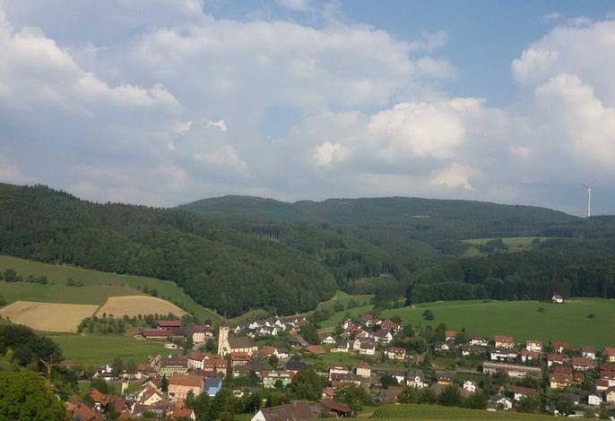 Blick auf Dörlinbach