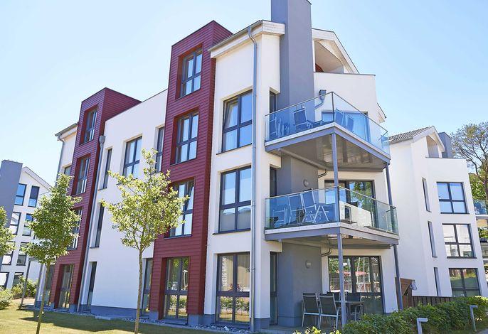 Strandvilla Baabe -F635 | WG 26 mit Meerblick, Kamin, Sauna