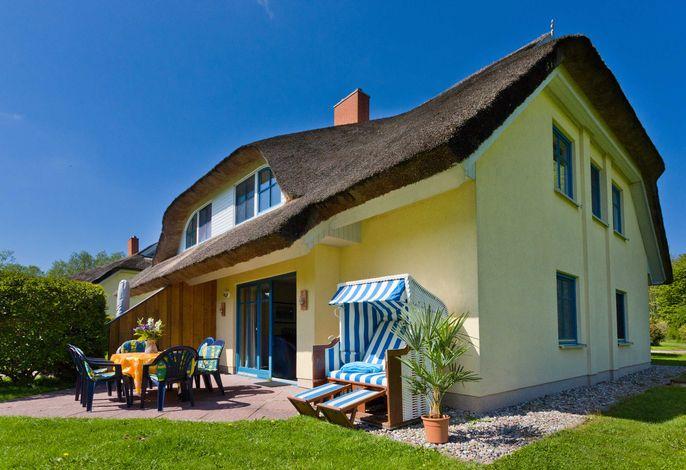 Reetdachhaus Eibe 2, 8 Personen, Kamin, Sauna, W-Lan