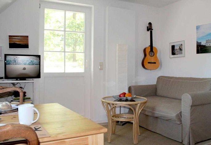 Eismeer Whg.2- Wohnbereich mit TV